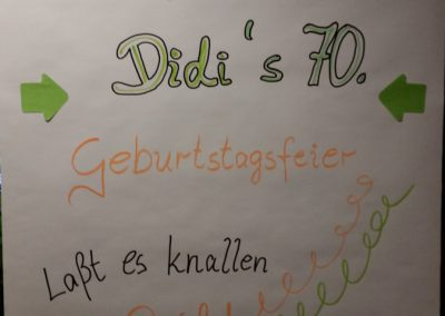 Geburtstag Dieter Hildebrand
