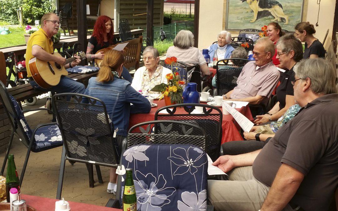 15.06.2019 Besuch der Senioren vom Seniorenzentrum Wilmendyk