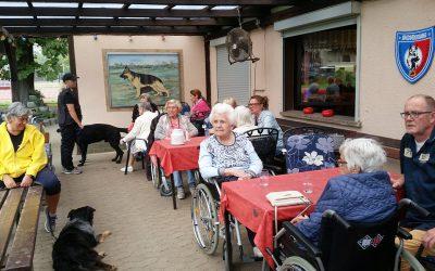 Besuch vom Seniorenzentrum Wilmendyk am 17.08.2019
